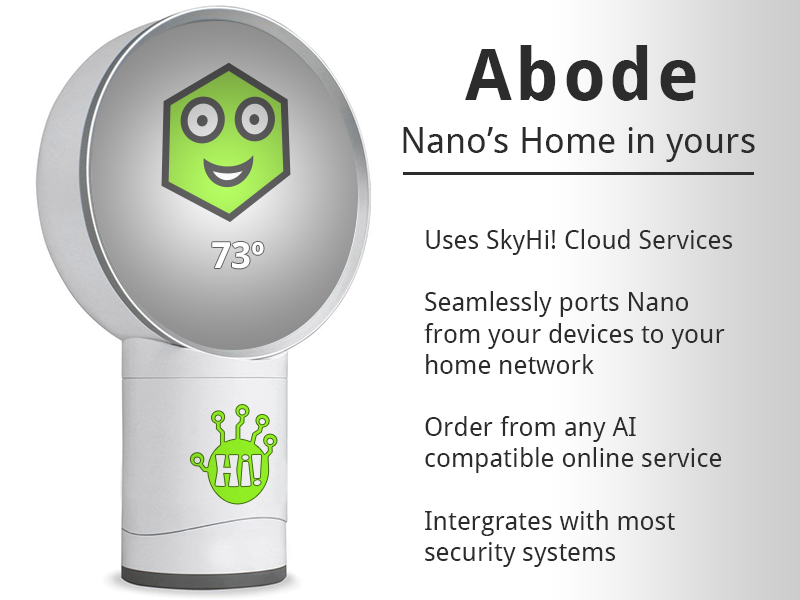 The Nano AI's home in yours